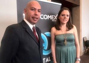 Gonzalo Farías y Sandra Mendoza