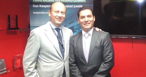 Alejandro Ramírez y Homero Filigrana