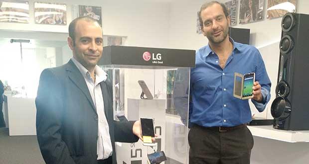 LG teléfono modular