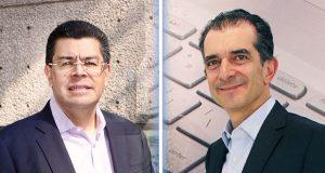 Gustavo Gómez y Carlos Cortés
