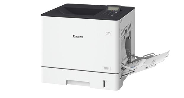 La marca presentó la impresora Color imageCLASS LBP712Cdn, de la cual destacó su calidad de imagen y productividad, gracias a la capacidad de una impresión de hasta 40 páginas por minuto en tamaño carta, y un tiempo de 9,2 segundos de activación, tras el modo de ahorro de energía.