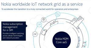 Nokia lanza servicio de Internet de las Cosas