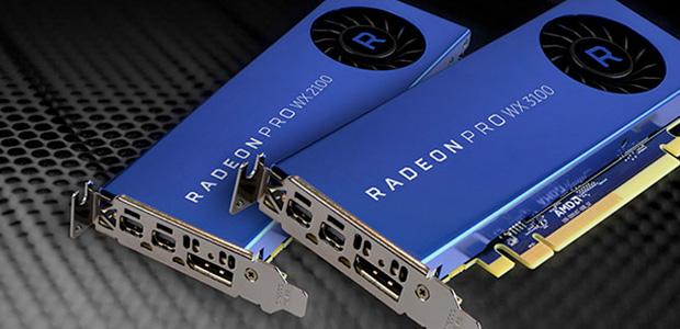 Radeon Pro WX 2100 y WX 3100, dos nuevas GPUs, fueron anunciadas por el fabricante. Ambas soluciones fueron destacadas por su rendimiento para el diseño, manufactura, medios, entretenimiento y flujos de trabajo financieros. Una oferta que redefinen los gráficos de los modelos de entrada en workstations, aseguró la marca.