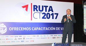 Saúl Rojo, director del mayorista, dirigió los trabajos de capacitación, talleres, exposición y seminarios de la Ruta CT 2017, dirigida a las sucursales de la capital del país y zonas aledañas. Contó con la participación de varias marcas patrocinadoras.