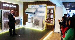 Samsung Electronics México inauguró una nueva zona de experiencia enfocada en presentar soluciones de aire acondicionado de la división de Enterprise Business Solution.