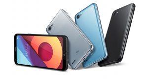 El fabricante presentó en México el LG Q6 en sus dos versiones (LG Q6 Prime y LG Q6 +), se trata del primer teléfono de gama media con pantalla FullVision, incluye la función de reconocimiento de rostro de la marca.