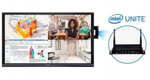 ViewSonic anunció su alianza con Intel Corporation para entregar comunicaciones unificadas (CU) más inteligentes en salas de conferencias y aulas de clase.