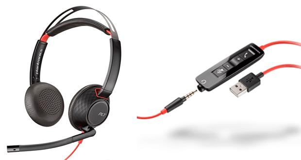 La marca anunció el lanzamiento de los headsets Blackwire 5200 series y 3200 series. Como prestaciones principales destacó conexión sencilla desde computadoras portátiles, PC y smartphones, así como audio de calidad y comodidad.