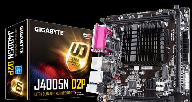 Gigabyte presenta motherboards para Gemini Lake con procesadores Intel