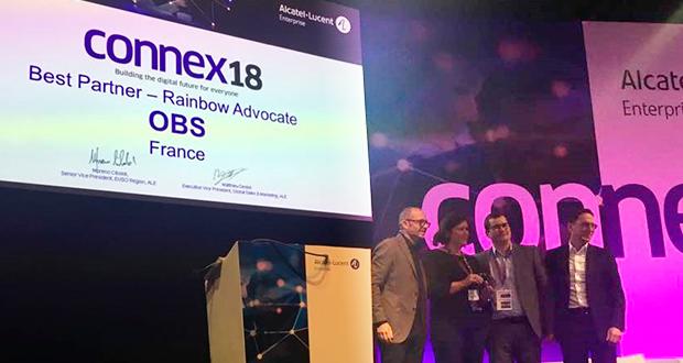 Socios comerciales de ALE reconocidos en los premios EUSO Connex18