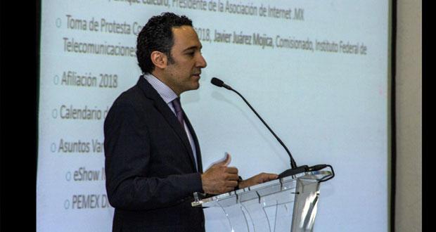 En el marco de la toma de protesta del Consejo Directivo 2018 de la Asociación de Internet .MX (antes AMIPCI), su nuevo presidente Enrique Culebro Karam, anunció la agenda pública de la asociación para este año, que tiene como propósito dar continuidad a los esfuerzos por hacer de la economía digital el mayor factor de crecimiento en México, mediante el uso de Internet.