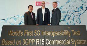Mediante un comunicado, Deutsche Telekom (DT), Intel y Huawei informaron sobre su colaboración para lograr las primeras pruebas de interoperabilidad y desarrollo 5G (IODT) basadas en el estándar 3GPP R15 con una estación base comercial.