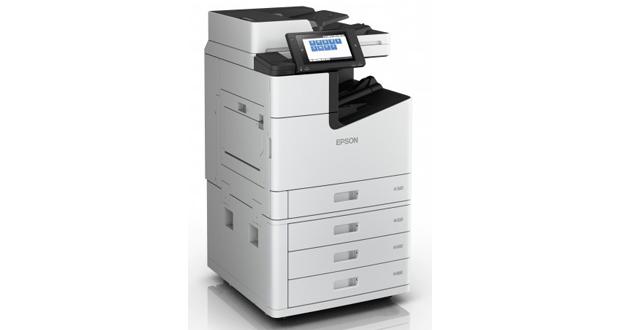 La marca presentó una nueva impresora para oficinas impulsada por la tecnología de cabezal fijo en línea, PrecisionCore Line Head, para producir imágenes de alta resolución (hasta 600 x 2400 puntos por pulgada).