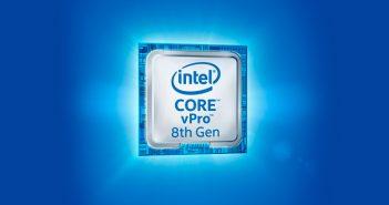 Para actualizar sistemas, optimizar la productividad con Windows 10 y ayudar a proteger los activos de las compañías, a la vez que administran costos, Intel presentó sus nuevos procesadores Core vPro de 8ª generación, que abarcan las familias Core y Xeon. Según el fabricante, con dichos procesadores basados en la plataforma vPro, las empresas pueden: