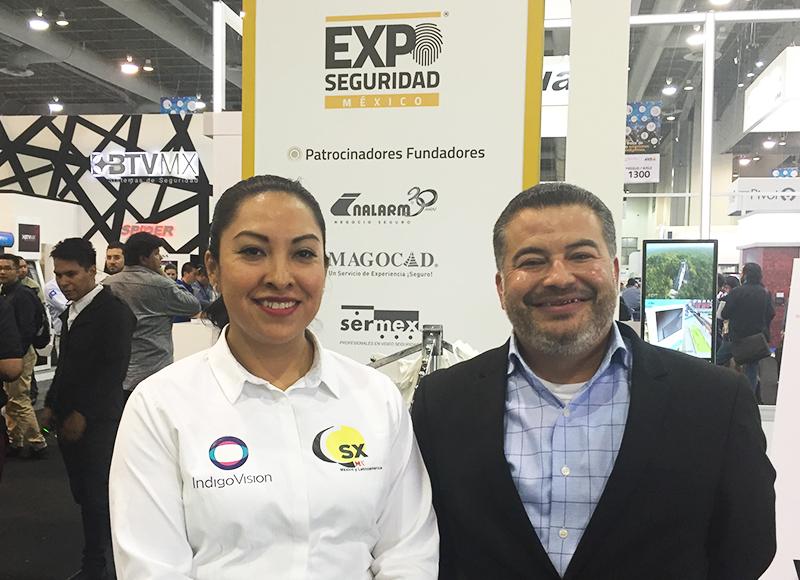 """""""Por otro lado, estaremos realizando acciones de generación de demanda, como lo que acabamos de hacer con la participación en Expo Seguridad 2018, que ha sido uno de los escenarios en los que hemos recibido el mayor número de participantes interesados en nuestros productos"""", agregó Gómez."""