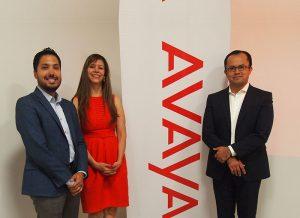 1283Fabricantes_Avaya_Manuel Torres, Maggie Bautista y Gabriel Rodríguez