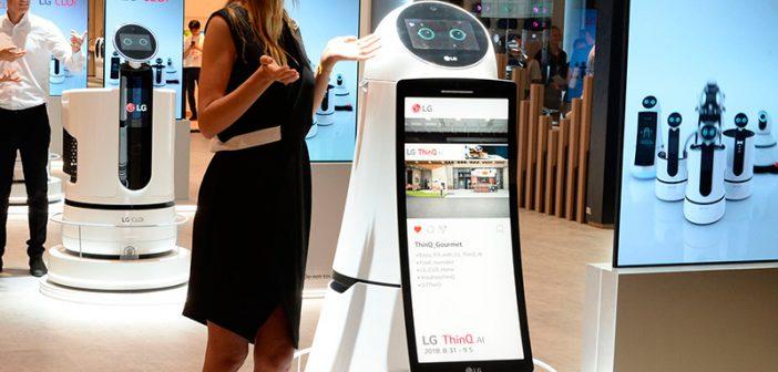 LG Electronics da prioridad a su marca ThinQ en IFA 2018
