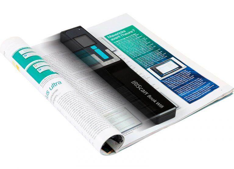Velocidad en escaneo con IRIScan Book 5 Wi-Fi