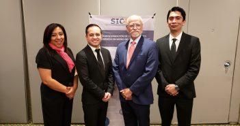 Fabiola Cruz, Erik de la Cruz, Ricardo Zermeño y Alejandro Vargas
