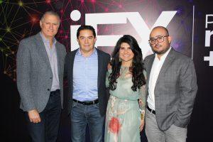 Luis Férez, Gerardo Romero, Bibiana Mejía y Oscar López