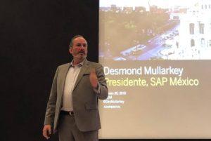 Desmond Mullarkey, presidente de SAP México