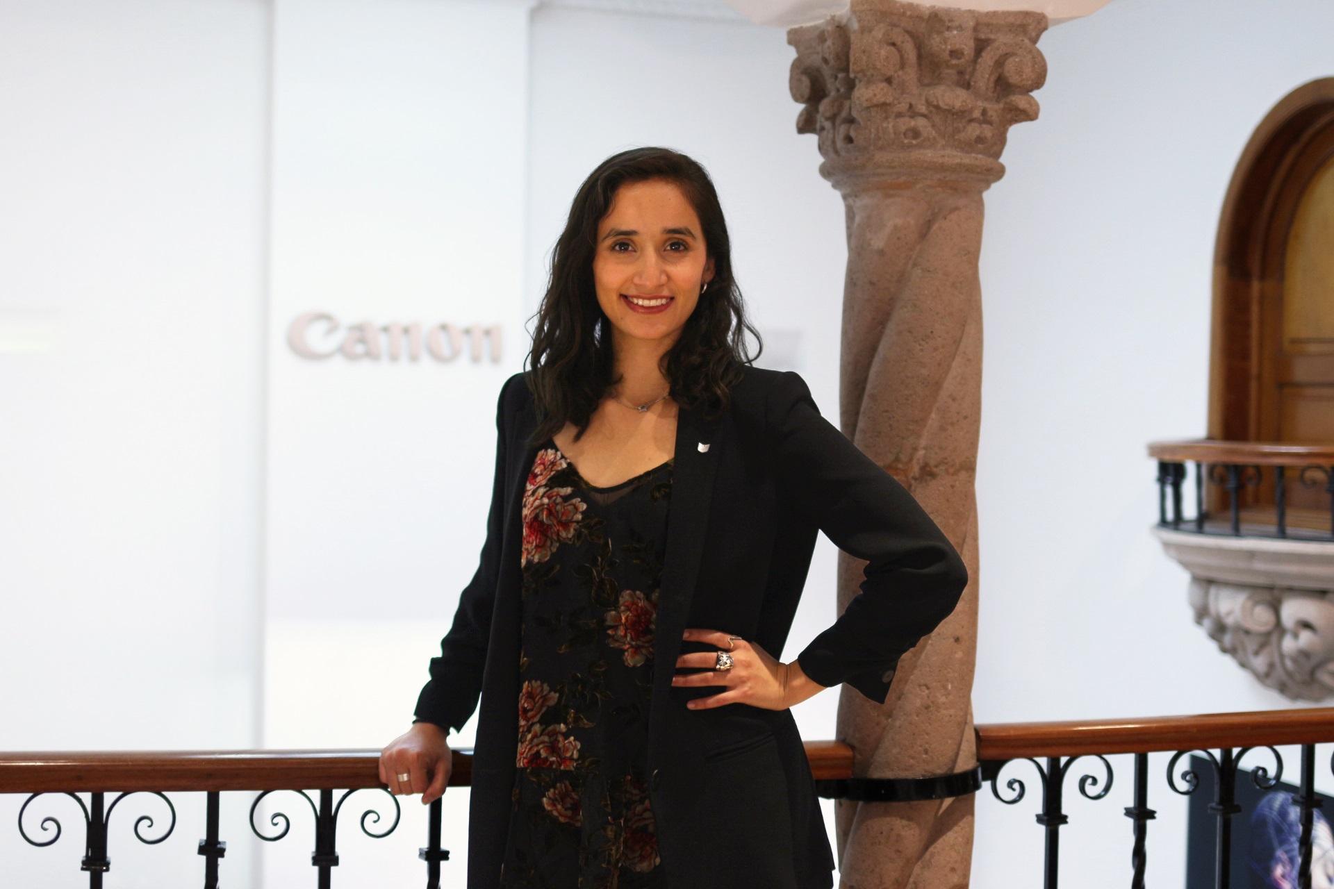 Irina Leyva, gerente de Mercadotecnia de Canon Mexicana