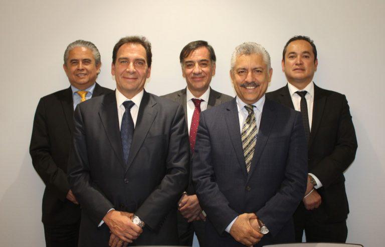 Ferando Miranda, Mario González, Adolfo Mexía, Eduardo Coronado, Ricardo Rodríguez