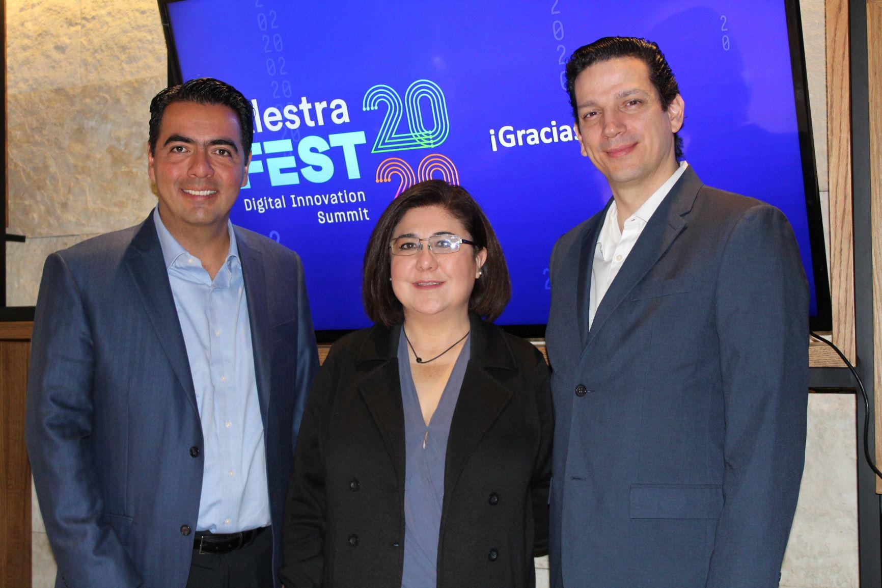 Gabriel Muñoz, Martha Lozano y Jenaro Martínez