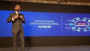 Luis Gerardo García, director de AMD México