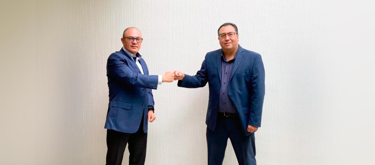 Gullermo Chan y Hugo Morales